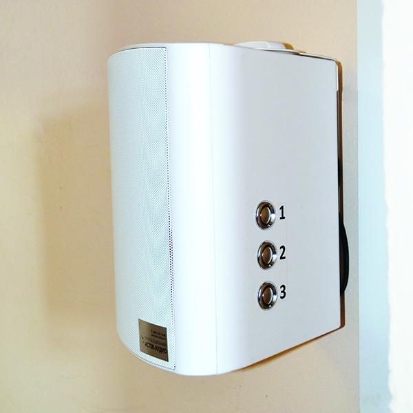ПАРУС - звуковой маяк с беспроводной кнопкой